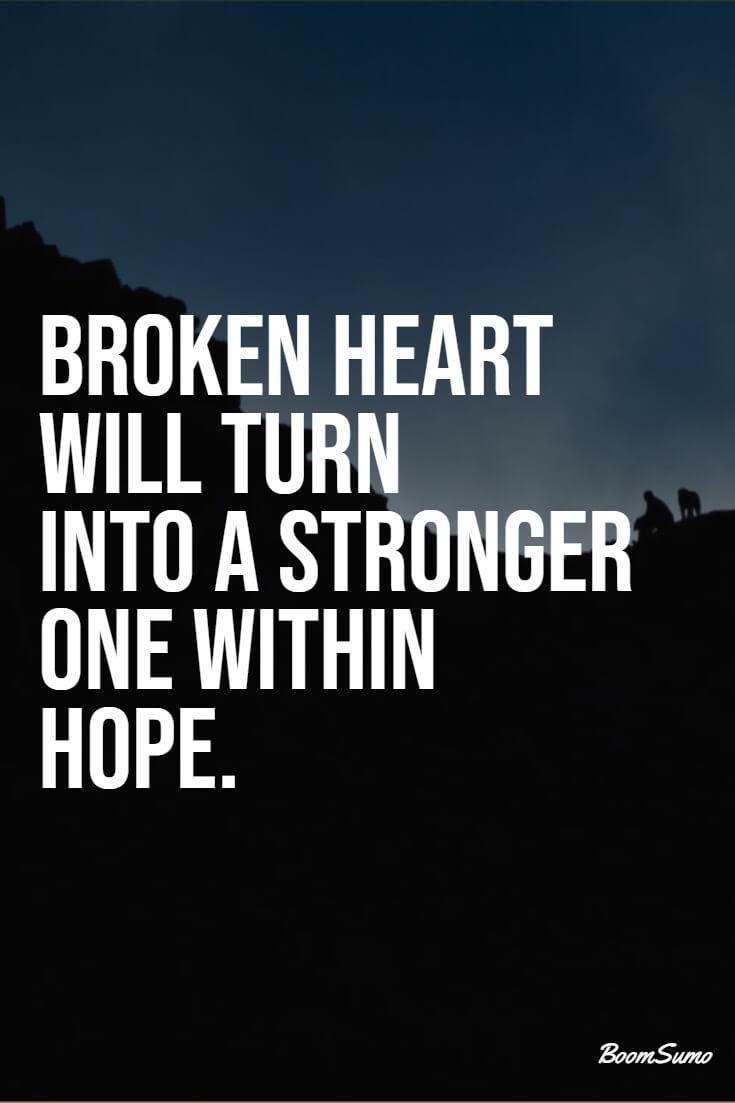 110 Broken Heart Quotes