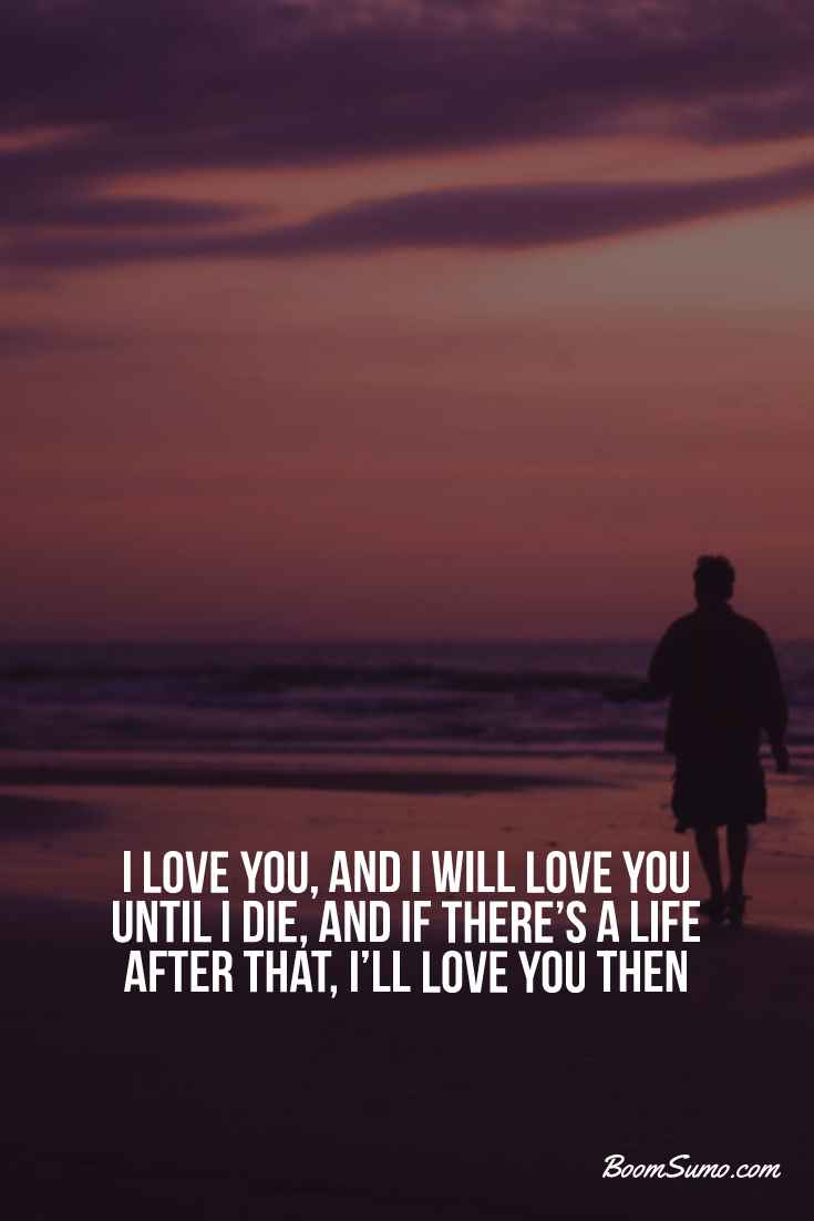 I love you quotes straight from the heart