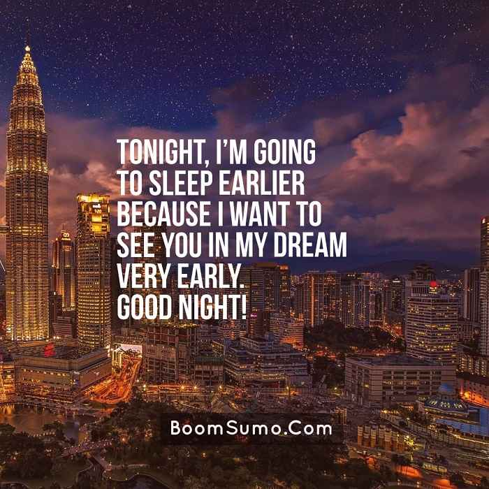 26 Good Night Quotes Messages Sayings with Charming Images