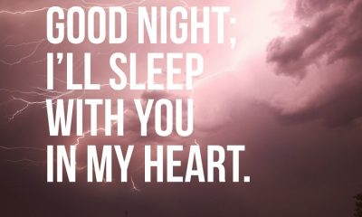Good Night Messages Sayings with Images