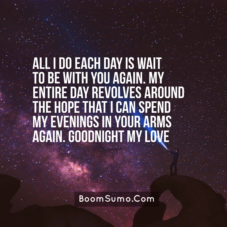 Sweet Night Quotes for Him love life