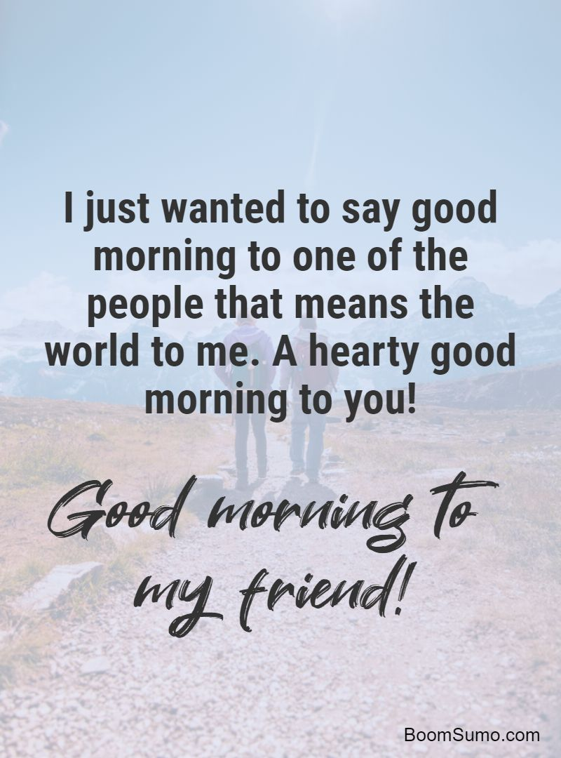 good morning wishes for best friends 1