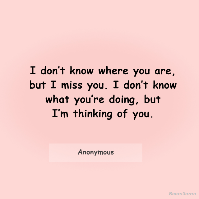 Best Thinking Of You Quotes For Him Her Sayings 16