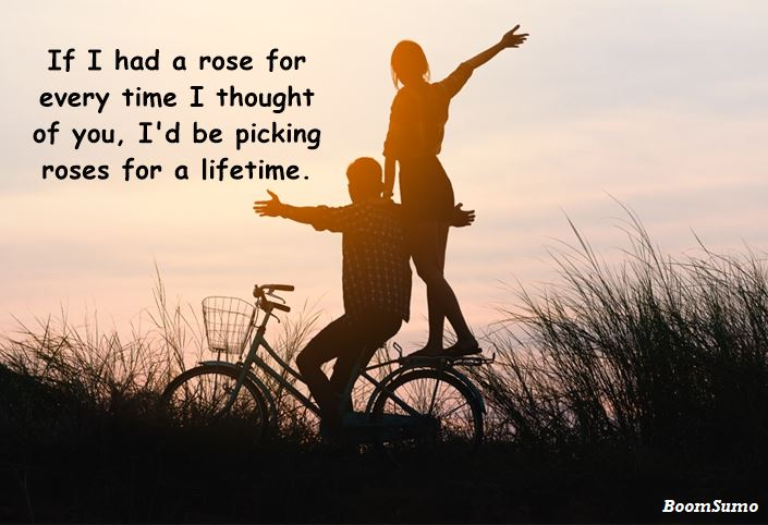 Best Thinking Of You Quotes For Him Her Sayings