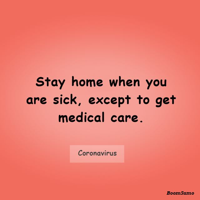Coronavirus Quotes To Protect Yourself From Pandemic 2