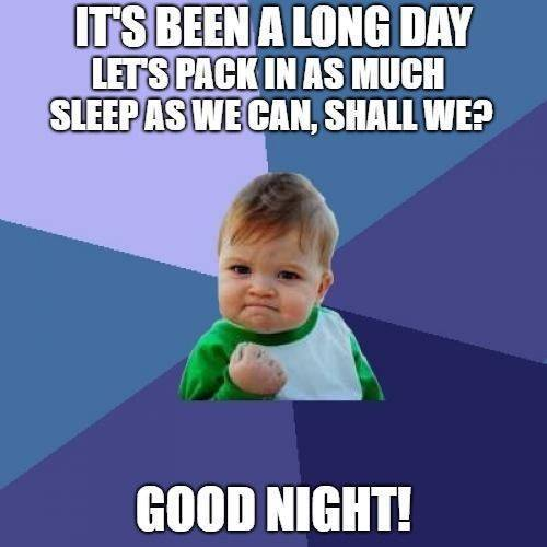 Good Night Memes Funny Goodnight Memes Images 27