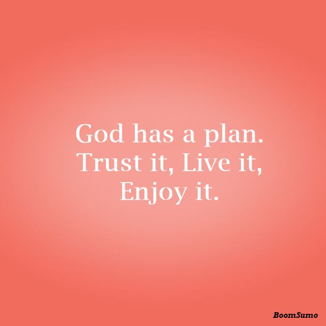 god quotes about life