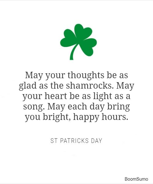 st patricks day quotes and wishes for st patrick s 7