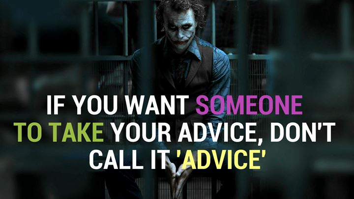 joker quotes about the dark side of humanity