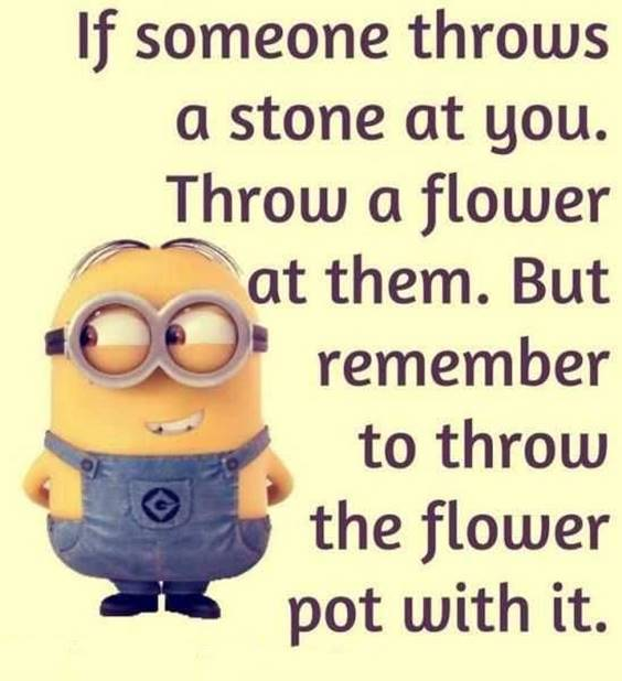 50 Funny Jokes Minions Quotes With Images minion images and quotes despicable me minion