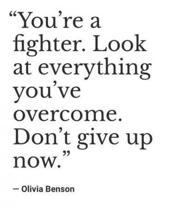 Don't give up Best Perseverance Quotes about life japanese proverbs about perseverance