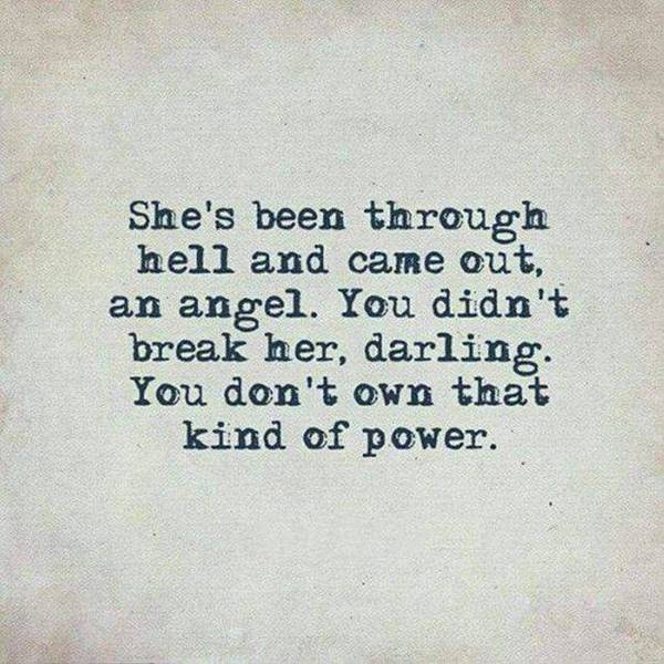 break her kind of power Best Perseverance Quotes about life never give up on what you want quotes