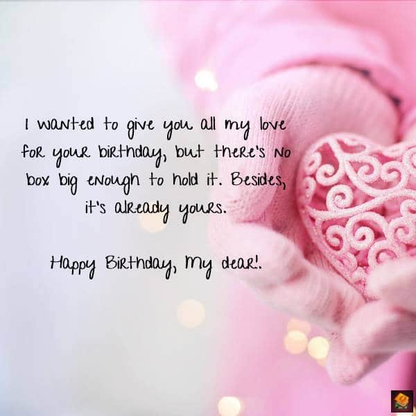 Images for Romantic Birthday Wishes