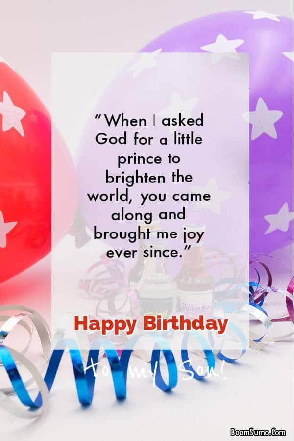 Happy Birthday Textx | Your Son's 40th birthday greetings