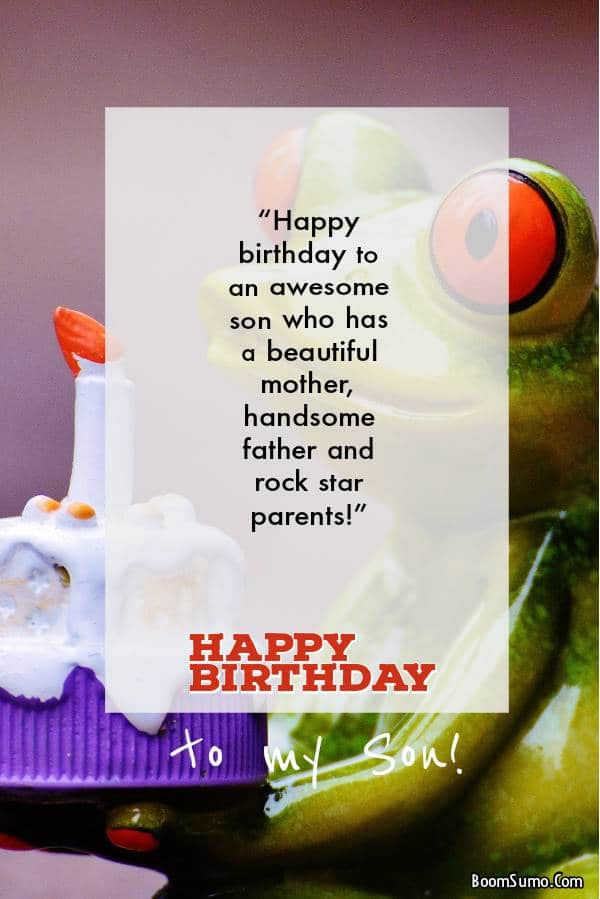 Funny Birthday Wishes for your Adult Son