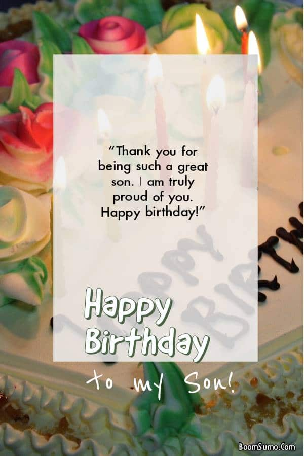 Birthday Wishes For Your Boy | Messages To Sons From Mothers And Fathers