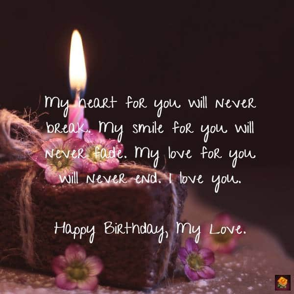 My Most Precious Feelings Unique Romantic Birthday Wishes for her