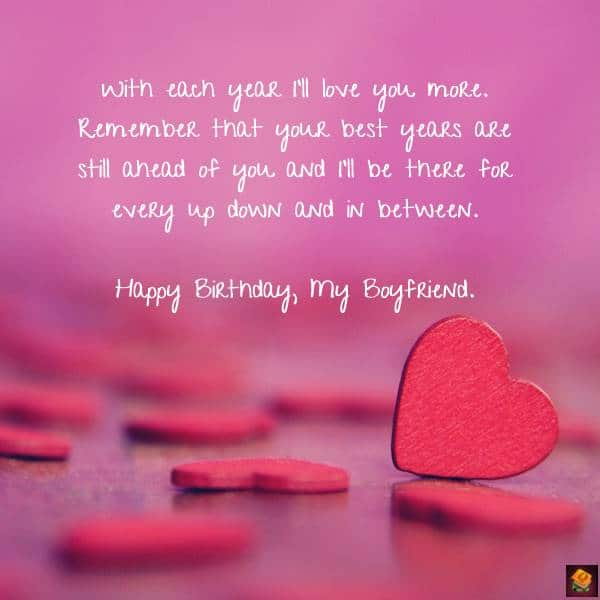 Romantic Birthday Messages for Boyfriend Quotes Birthday Messages