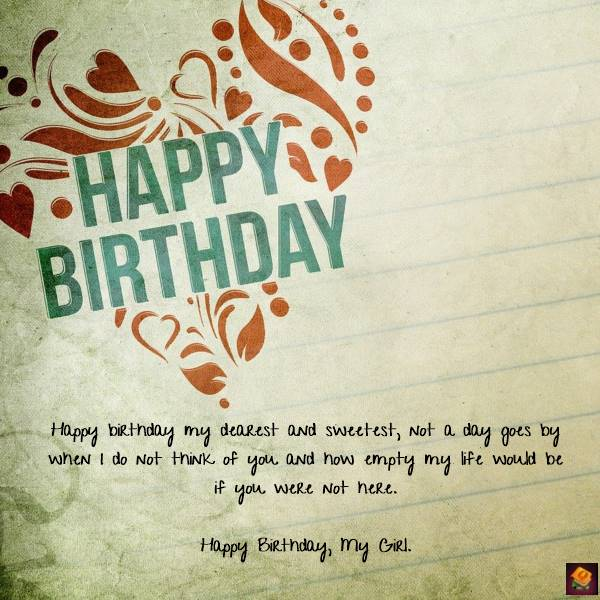 Romantic Birthday Wishes for Girlfriend Birthday Messages
