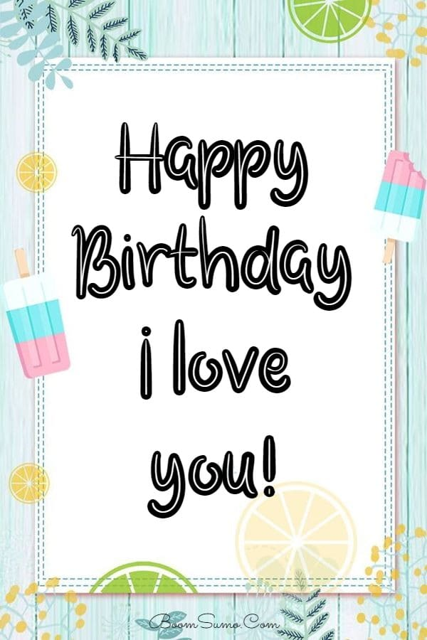 145 Best Happy Birthday Love Cute Romantic Birthday Wishes for Lovers | happy birthday sister, birthday, message for a friend birthday