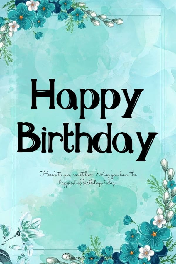 145 Best Happy Birthday Love Cute Romantic Birthday Wishes for Lovers | greetings for a friend birthday, happy birthday wishes to friend, friends greetings birthday