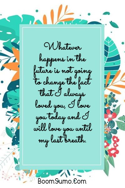 145 Unique I Love You Forever Quotes For Him and Her | unconditional love love you forever quotes, i love you quotes, soulmate i ll love you forever quotes