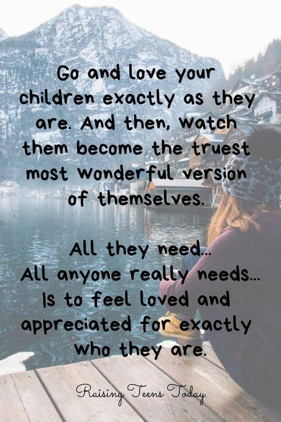 Unconditional Love Mother And Child Quotes