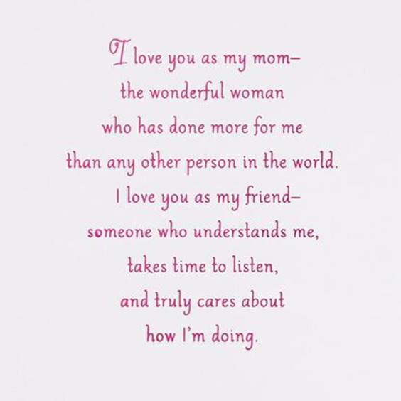 how much i love you mom quotes
