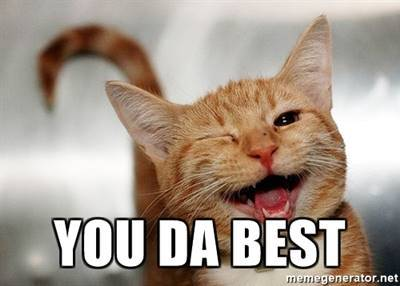 45 Best You Da Best Memes - You're The Best Meme - Often, the most difficult roads lead to the most beautiful destinations.