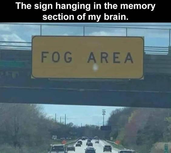 """Great Memes """"The sign hanging in the memory section of my brain."""" width="""
