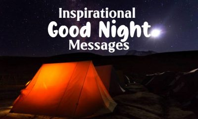beautiful inspirational good night messages and quotes