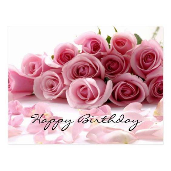 cute happy birthday flowers images