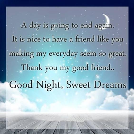 love good night for him