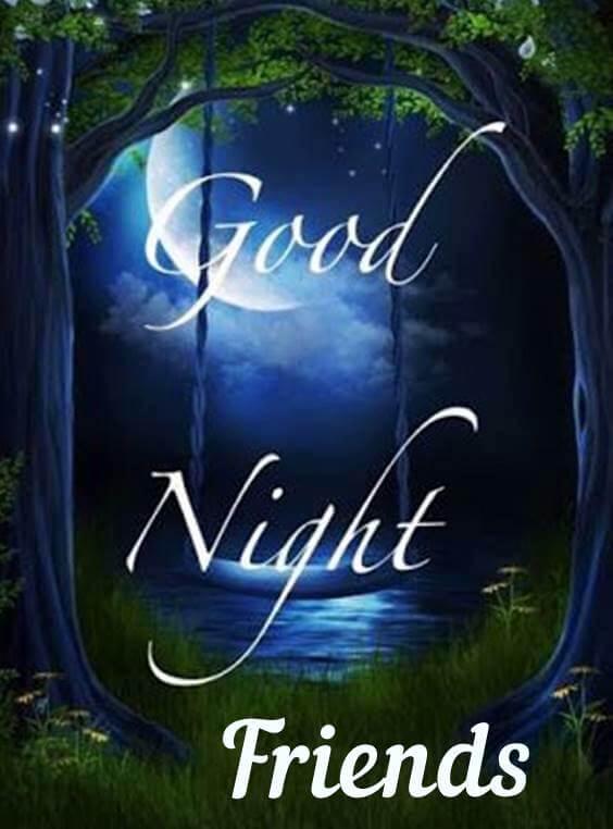 simple good night message