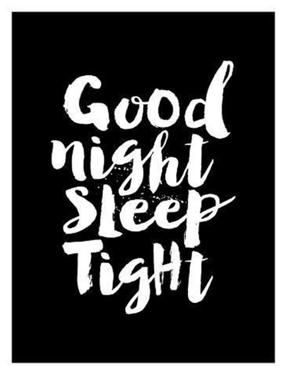 good night baby i love you