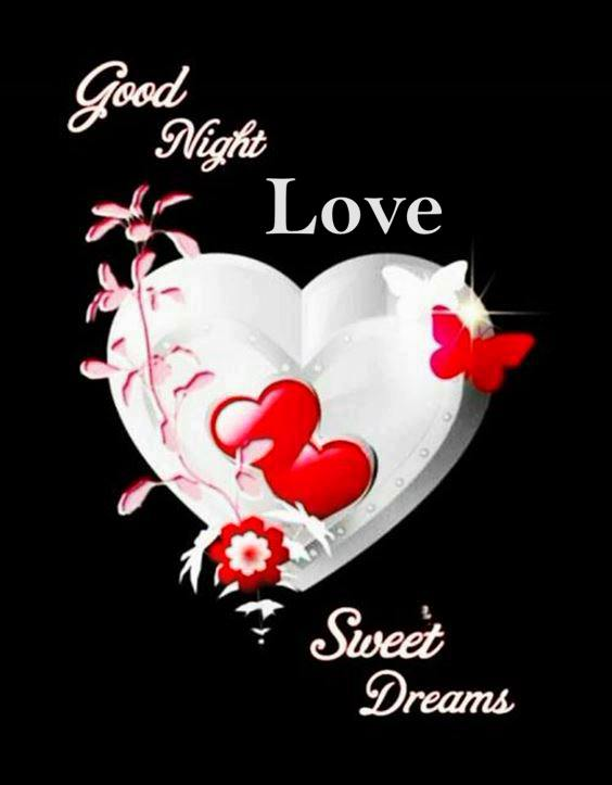 good night love message for her