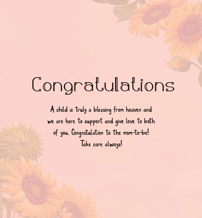 congratulations on pregnancy messages prayer funny