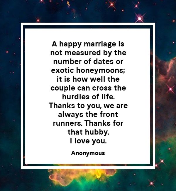 thank you messages for the best husband