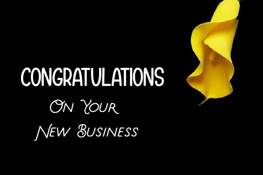 Congratulation Messages and Good Luck Wishes for New Business