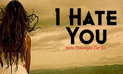 I Hate You Messages Emotional Messages To Your Ex